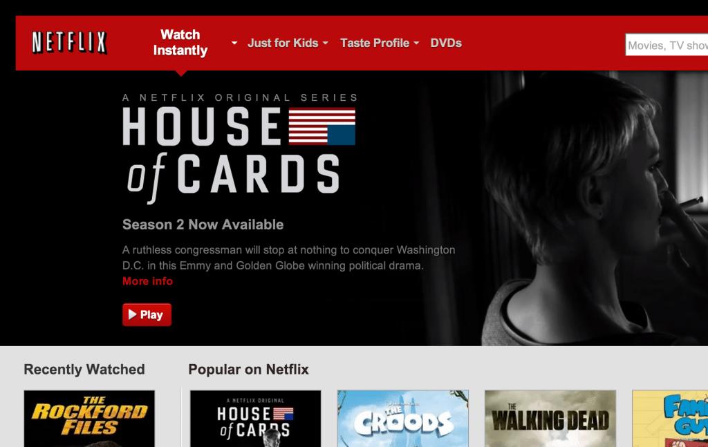 Netflix-website-homepage